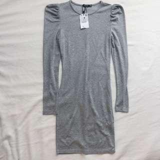 Bershka Basics: Plain Long Sleeved Dress