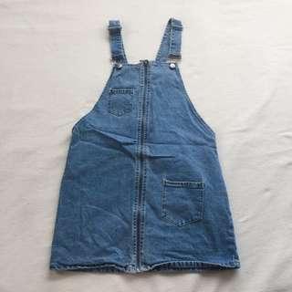 Forever 21 Overalls (Skirt)