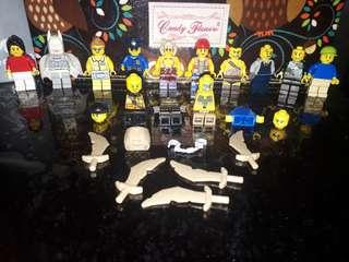 Original Lego figure and Spare items
