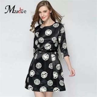 NEW!!! ❤️FORMAL DRESS ❤️php. 420 ❤️size: S, M, L, XL ❤️made: KOREA WITH BELT