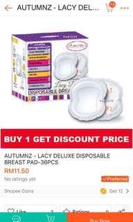 Autumnz Breast Pad (2boxes)