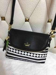Kate Spade Leatherette Sling Bag