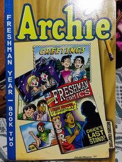 Archie Comics Freshman Year