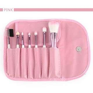 Professional Make Up Brush Kit 7 in 1 with Pouch