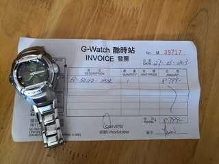 Casio 卡西歐 G-Shock G-501FD-1ADR 手錶