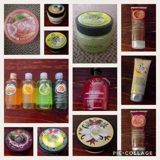 Brand New Body Shop Bundle!