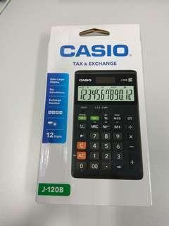Casio計數機 J-120B