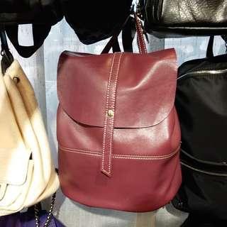 E3029 羊皮背囊 Leather Backpack 女裝袋 真皮背包