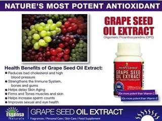 Grape seed oil extract from Essensa Naturale
