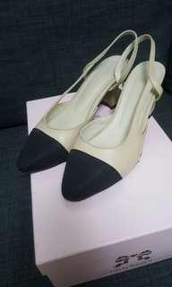 🚚 小香風跟鞋 尺寸:25公分 版型較小