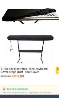 Keyboard Dust Proof Cover (Black & Purple-2nos)