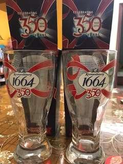 1664啤酒杯-350th Celebrating Year $60/1 set