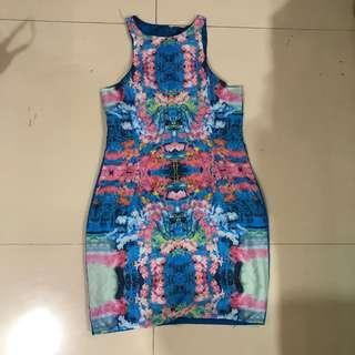 Dress Pesta Bunga