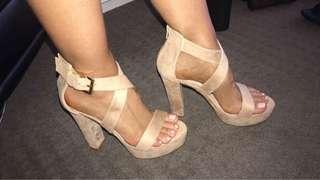 Feelance Velvet Heels