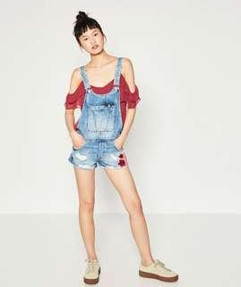 Zara Tattered Jumpsuit