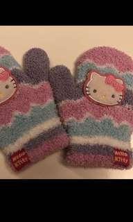 🍒Hello Kitty 手襪 mittens