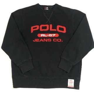 Ralph Lauren Sweatshirt RL67 // Vintage / Size Small