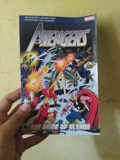 The Avengers comic book