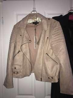 Mink Pink Suede Jacket