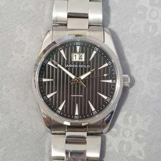 UP$278 36mm Aries Gold Stainless Steel Watch Rolex Inspired