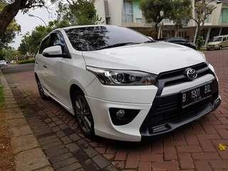 Toyota Yaris S TRD AT 2014 Putih
