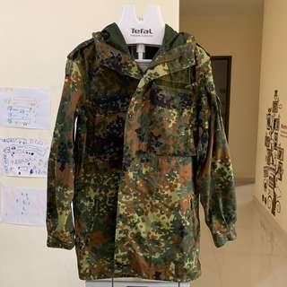 German military camouflage coat