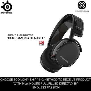 SteelSeries Arctis 7 Lag-Free Wireless Gaming Headset with DTS Headphone:X 7.1 Surround for PC, PlayStation 4, VR, Mac and Wired for Xbox One, Android and iOS
