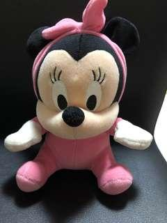 authentic disney baby minnie mouse soft toys
