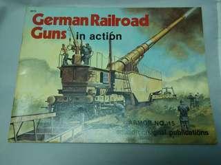 二戰德軍列車炮(書)  German Railroad Guns (book)