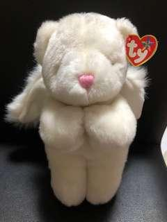 brand new with tag white angel bear