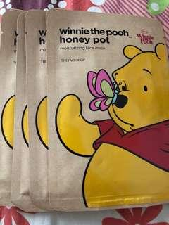 (Authentic) Pooh Facial Mask