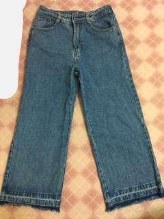 🚚 牛仔寬褲