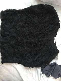 黑色闊袖衫