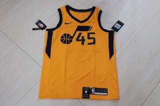 🏀現貨一件🏀NBA Nike Utah Jazz Donovan Mitchell Statement Swingman Jersey US Version 爵士米曹美版球衣