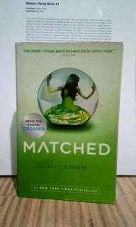 Matched Ally Condie Book Books