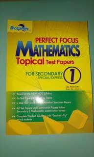 Perfect Focus Mathematics Test Papers