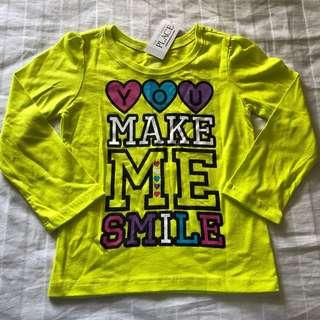 The Children's Place top with long sleeves