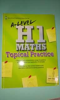 A level H1 Maths Topical Practice