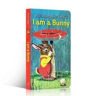 I am a bunny 英文兒童繪本紙板書