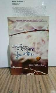 The Catastrophic History of You and Me Jess Rothenberg Book