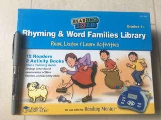 Learning Resources Rhyming & Word Families Library