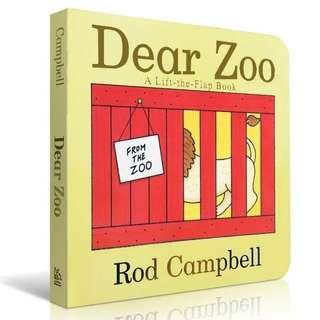 Dear zoo 英文兒童圖書 紙板書