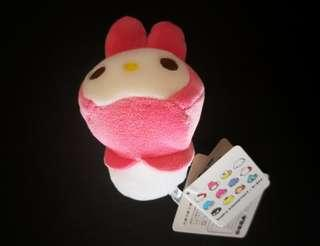 Melody keychain plush