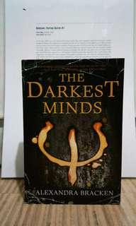 The Darkest Minds Alexandra Bracken book books