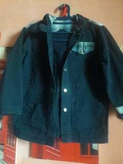 Pre💙 Blue Hoodie Jacket