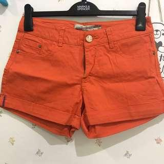 Basic short orange