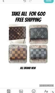 Take all for 600 (free shipping)