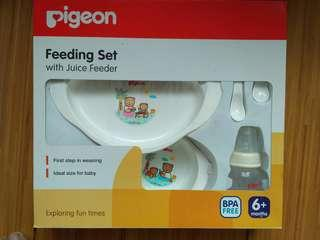 PIGEON-Feeding Set with Juice Feeder