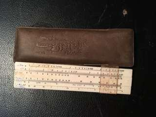 Side pocket ruler