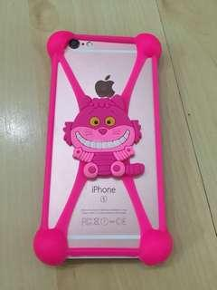 Rubber phone casing